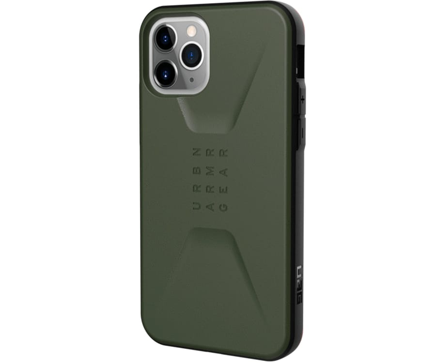UAG CIVILIAN VERDE OLIVA CARCASA APPLE IPHONE 11 PRO 5.8'' RESISTENTE