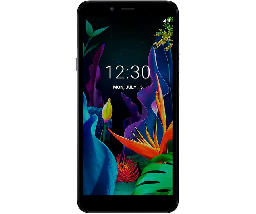 LG K20 NEGRO MÓVIL 4G DUAL SIM 5.45'' IPS VGA+/4CORE/16GB/2GB RAM/8MP/5MP