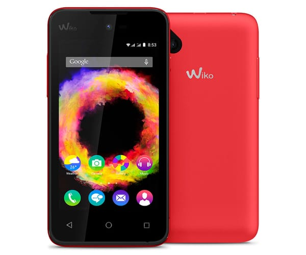 WIKO SUNSET2 MÓVIL 2G 4''/DUAL-CORE/DUAL SIM/4GB/512MB RAM/2MP CORAL