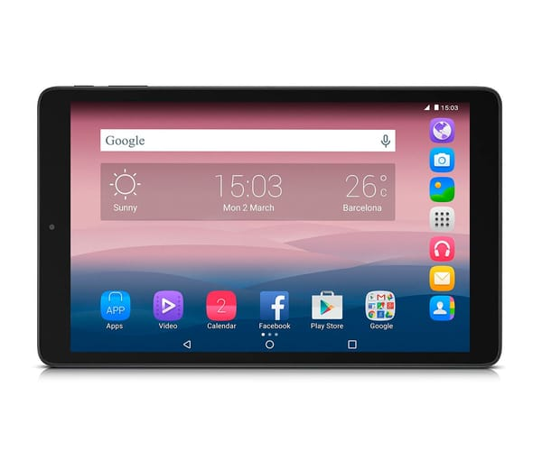ALCATEL PIXI 3 (10) NEGRO TABLET WIFI 10.1'' IPS/4CORE/8GB/1GB RAM/5MP/2MP