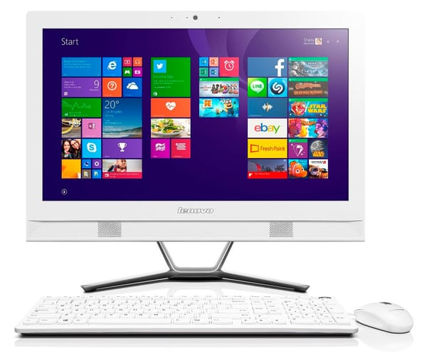 LENOVO ALL IN ONE C40-30 ORDENADOR TODO EN UNO 21.5'' TÁCTIL i3/1TB/4GB RAM/DVD-RW/WIN 8.1