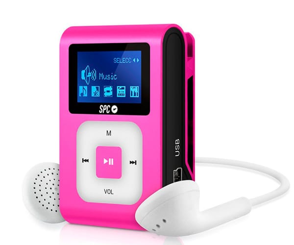 SPC 8648P ROSA REPRODUCTOR MP3 + RADIO 8GB