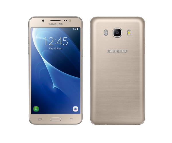 SAMSUNG GALAXY J5 (2016) DORADO SM-J510 MÓVIL 5.2'' / 4G / 4CORE / 16GB / 2GB RAM / 13MP / 5MP