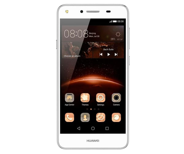 HUAWEI Y5 II BLANCO MÓVIL DUAL SIM 4G 5'' IPS/4CORE/8GB/1GB RAM/8MP/2MP