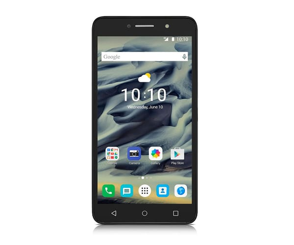 ALCATEL PIXI 4 (6) 4G NEGRO MÓVIL DUAL SIM 6'' IPS/4CORE/8GB/1GB RAM/8MP/5MP