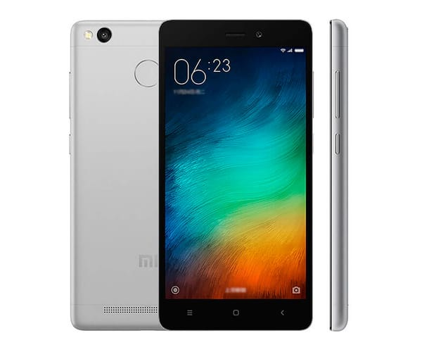 XIAOMI REDMI 3S (32+3) NEGRO MÓVIL 4G DUAL SIM 5'' IPS/8CORE/32GB/3GB RAM/13MP/5MP