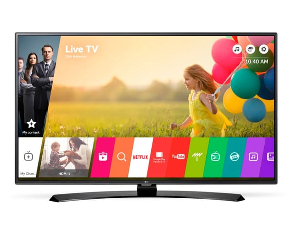 LG 43LH630V TELEVISOR 43'' FULL HD SMART TV CON WIFI Y USB GRABADOR