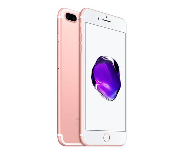 APPLE IPHONE 7 PLUS 32GB DORADO ROSA MÓVIL 4G 5.5'' IPS/4CORE/128GB/3GB RAM/12MP DUAL OIS/7MP