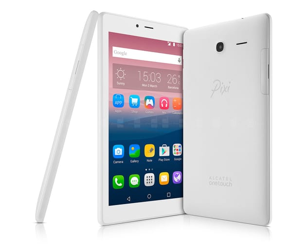 ALCATEL PIXI 4 (7) 3G BLANCA TABLET 7''/4CORE/8GB/1GB RAM/2MP/VGA