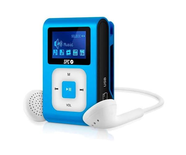 SPC 8648A AZUL REPRODUCTOR MP3 + RADIO 8GB