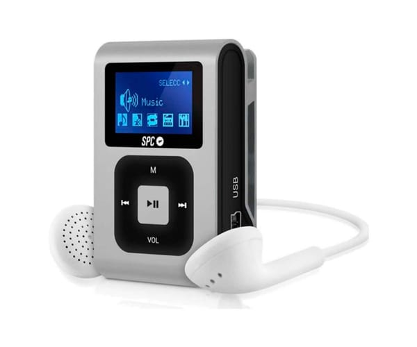 SPC 8648S PLATA REPRODUCTOR MP3 + RADIO 8GB