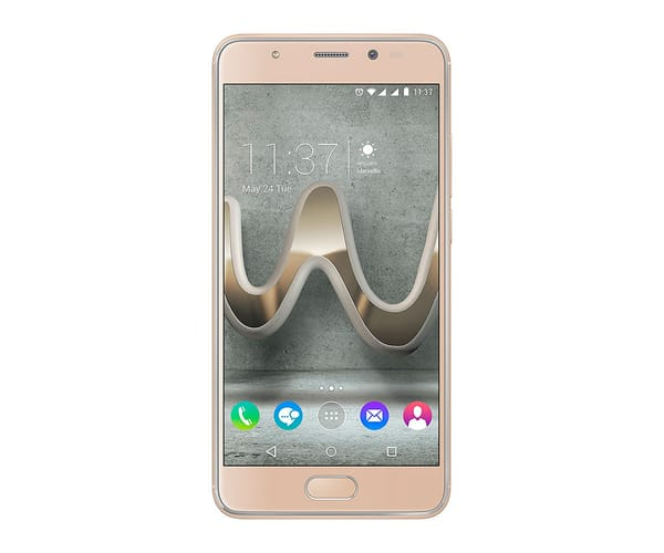 WIKO U FEEL PRIME DORADO MÓVIL 4G DUAL SIM 5'' IPS FHD/8CORE/32GB/4GB RAM/13MP/8MP