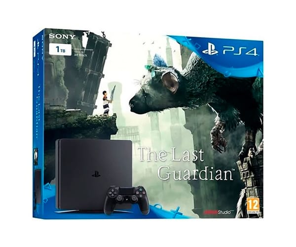 SONY PLAYSTATION 4 SLIM 1 TB + THE LAST GUARDIAN