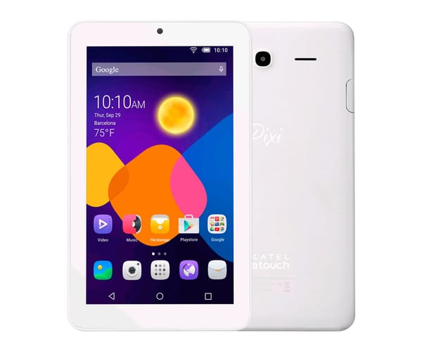 ALCATEL PIXI3 (7) 9002WH 3G BLANCA TABLET 7''/2CORE/4GB/512MB RAM/2MP/VGA