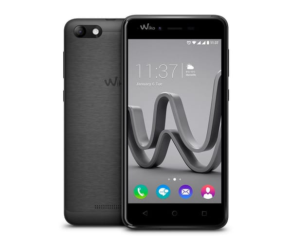 WIKO JERRY MAX GRIS ESPACIAL MÓVIL 3G DUAL SIM 5'' IPS/4CORE/16GB/1GB RAM/5MP/2MP