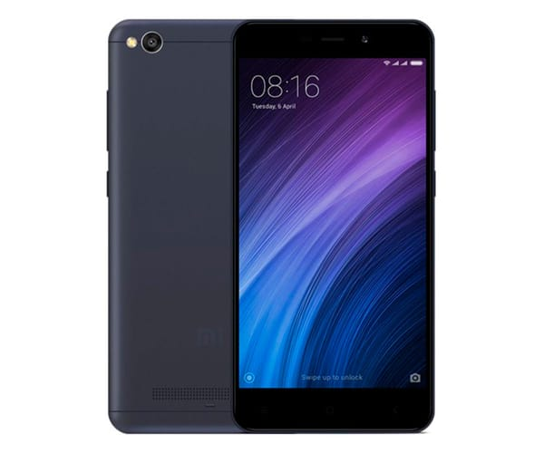XIAOMI REDMI 4A GRIS MÓVIL 4G DUAL SIM 5'' IPS HD/4CORE/32GB/2GB RAM/13MP/5MP