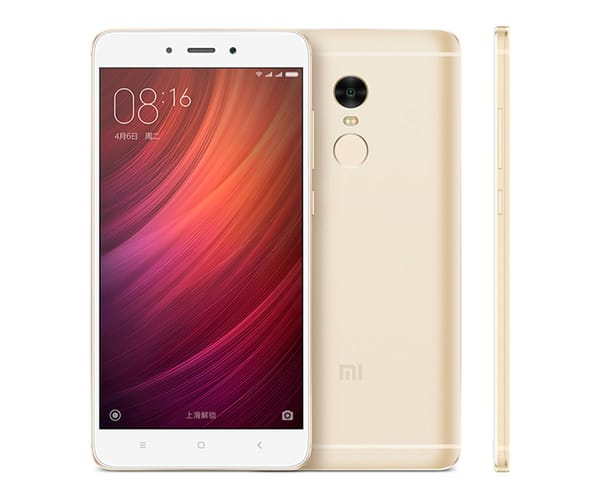 XIAOMI REDMI NOTE 4 PRO DORADO MÓVIL 4G DUAL SIM 5.5'' IPS FHD/8CORE/32GB/3GB RAM/13MP/5MP