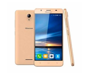 HISENSE U989 PRO DORADO MÓVIL 3G DUAL SIM IPS HD 5.5''/4CORE/16GB/1GB RAM/13MP/5MP