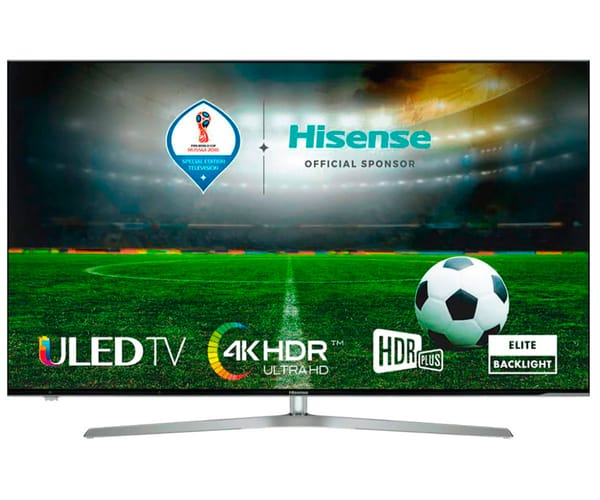 HISENSE H50U7A TELEVISOR 50'' ULED LCD UHD 4K HDR 2400Hz SMART TV WIFI BLUETOOTH