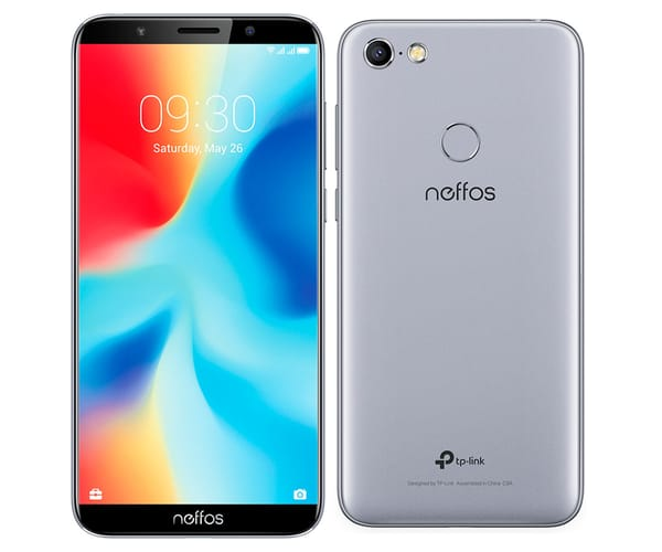 TP-LINK NEFFOS C9A CLOUDY GREY MÓVIL 4G DUAL SIM 5.45'' IPS HD+/4CORE/16GB/2GB RAM/13MP/5MP