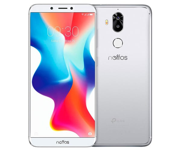 TP-LINK NEFFOS X9 MOONLIGHT SILVER MÓVIL 4G DUAL SIM 5.99'' IPS HD+/8CORE/32GB/3GB RAM/13MP+5MP/8MP