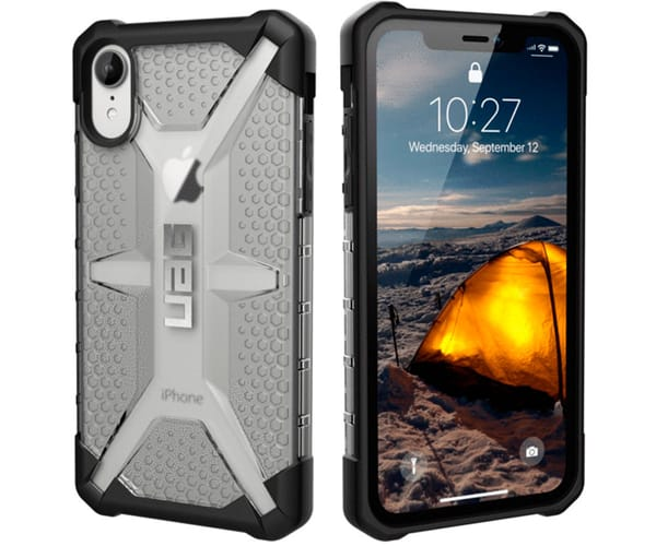 UAG PLASMA CARCASA APPLE IPHONE XR TRANSPARENTE RESISTENTE