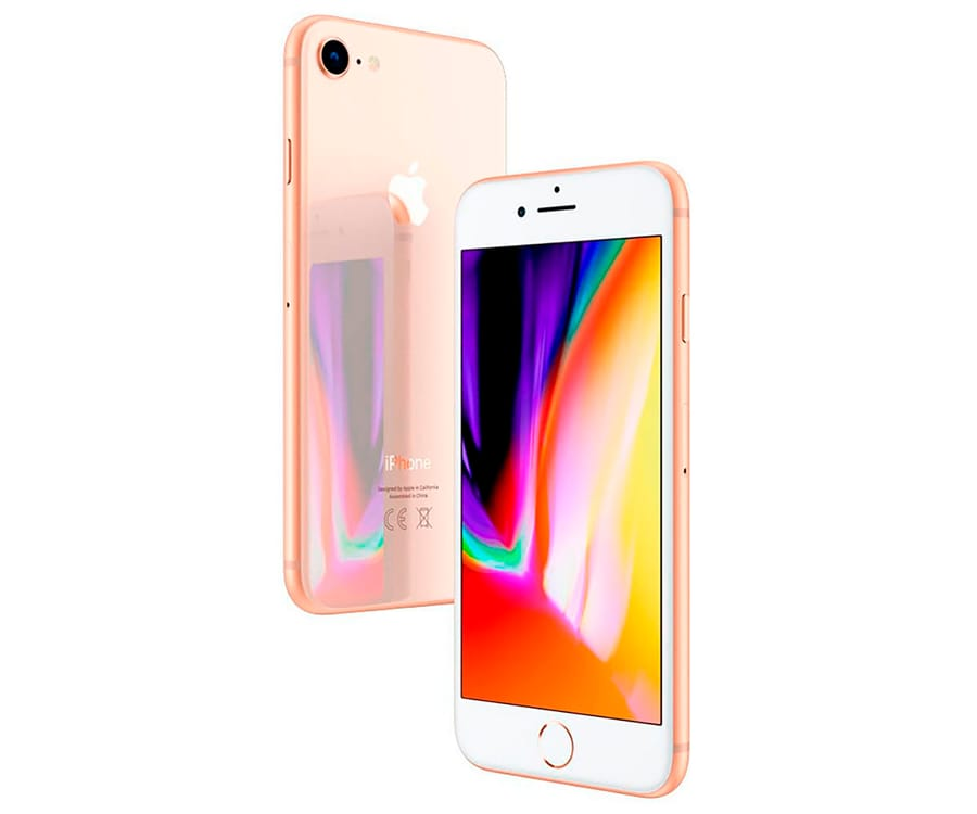 APPLE IPHONE 8 64GB ORO REACONDICIONADO CPO MÓVIL 4G 4.7'' RETINA HD/6CORE/64GB/2GB RAM/12MP/7MP