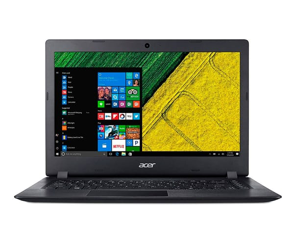 ACER ASPIRE 1 NEGRO PORTÁTIL 14'' LCD LED HD READY/N3550 1.10GHz/eMMC 64GB/4GB RAM/W10 S