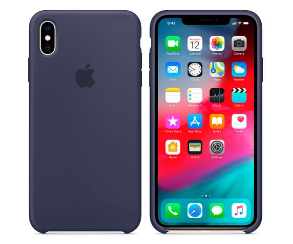 APPLE MRWG2ZM/A AZUL CARCASA DE SILICONA APPLE IPHONE XS MAX