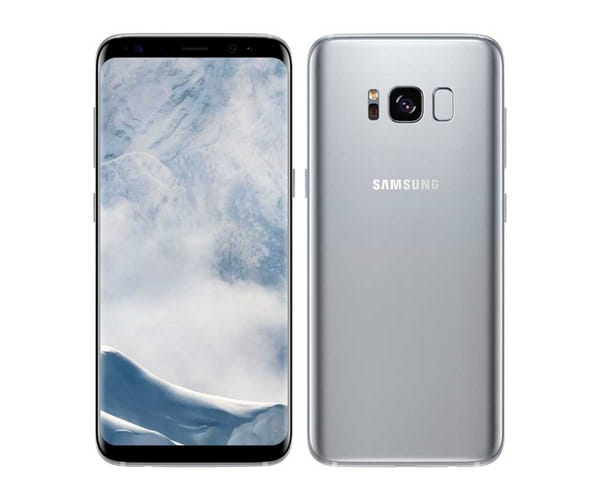 SAMSUNG GALAXY S8 PLUS PLATA SM-G955 MÓVIL 4G 6.2'' SAMOLED/8CORE/64GB/4GB RAM/12MP OIS/8MP
