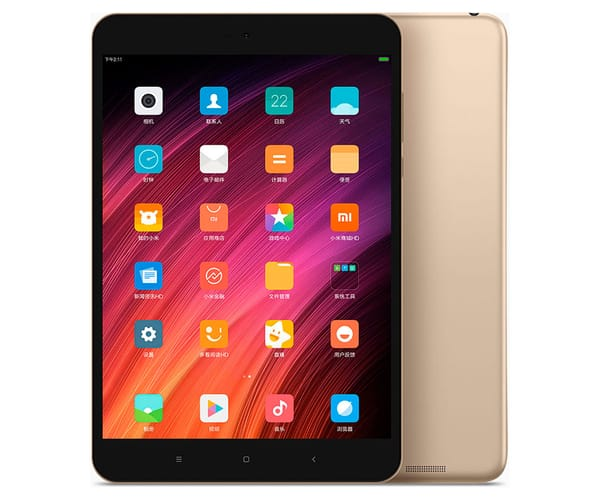 XIAOMI MI PAD 3 DORADO TABLET 7.9'' IPS/6CORE/64GB/4GB RAM/13MP/5MP