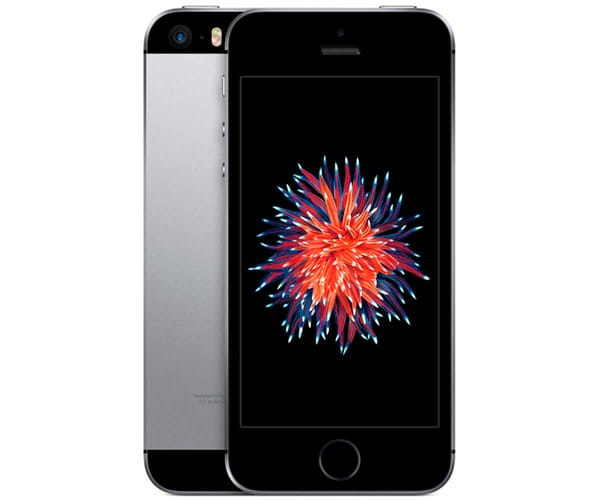 APPLE IPHONE SE 128GB GRIS ESPACIAL MÓVIL 4G 4''/2CORE/128GB/2GB RAM/12MP