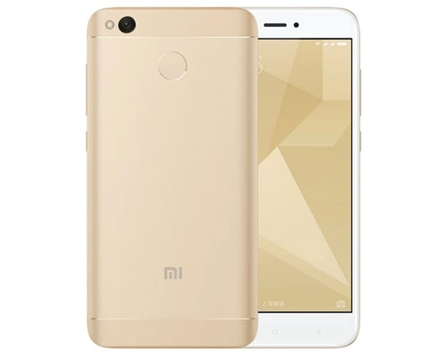 XIAOMI REDMI 4X DORADO MÓVIL 4G DUAL SIM 5'' IPS/8CORE/32GB/3GB RAM/13MP/5MP