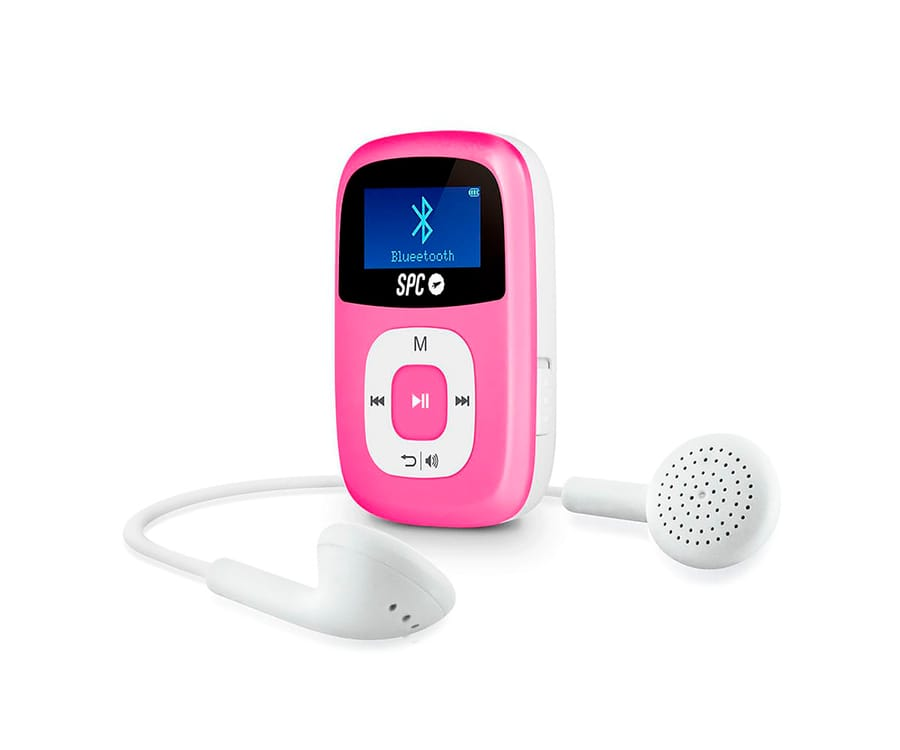 SPC FIREFLY 8668P ROSA REPRODUCTOR MP3 CON BLUETOOTH 8GB