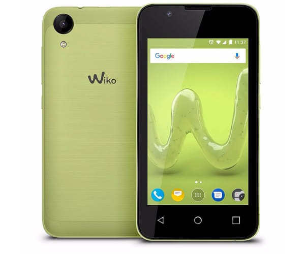 WIKO SUNNY2 LIMA MÓVIL DUAL SIM 3G 4''/4CORE/8GB/512MB RAM/5MP/2MP