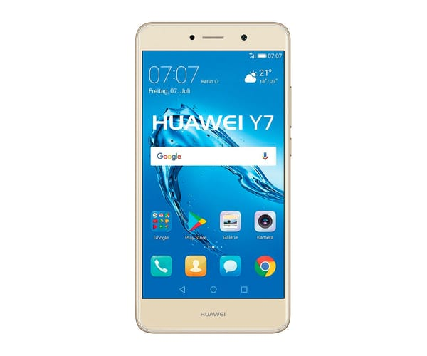 HUAWEI Y7 TORONTO (2017) DORADO MÓVIL 4G DUAL SIM 5.5'' IPS LED/8CORE/16GB/2GB RAM/12MP/8MP
