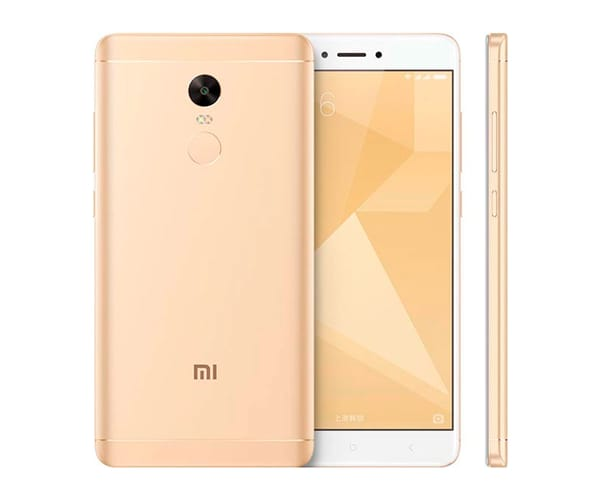 XIAOMI REDMI NOTE 4X DORADO MÓVIL 4G DUAL SIM 5.5'' IPS FHD/8CORE/64GB/4GB RAM/13MP/5MP