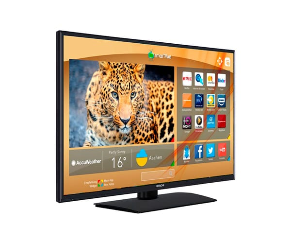 HITACHI 32HB4T41 TELEVISOR 32'' LCD LED HD READY SMART TV WIFI READY