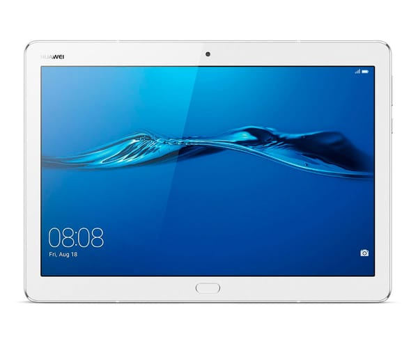 HUAWEI MEDIAPAD M3 LITE BLANCO/PLATA TABLET 10.1'' IPS/8CORE/32GB/3GB RAM/8MP/8MP