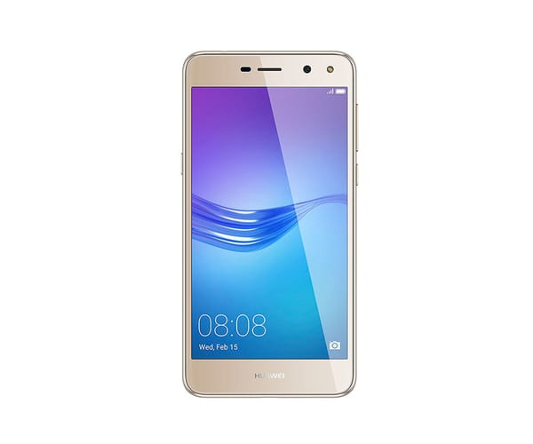 HUAWEI Y6 (2017) DORADO MÓVIL 4G DUAL SIM 5'' IPS HD/4CORE/16GB/2GB RAM/13MP/5MP