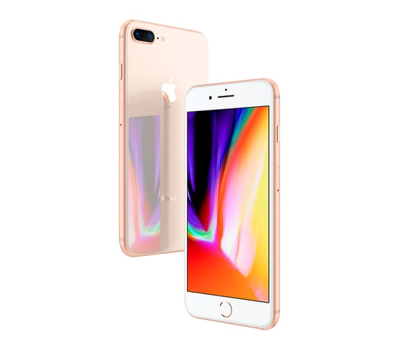 APPLE IPHONE 8 PLUS 64GB DORADO MÓVIL 4G 5.5'' RETINA FHD/6CORE/64GB/3GB RAM/12MP+12MP/7MP
