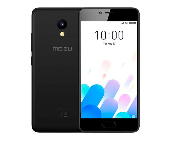 MEIZU M5C NEGRO MÓVIL 4G DUAL SIM 5'' IPS HD/4CORE/16GB/2GB RAM/8MP/5MP