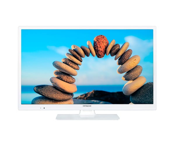 HITACHI 24HBC05W TELEVISOR 24'' LCD LED HD READY 100Hz CON USB GRABADOR Y HDMI