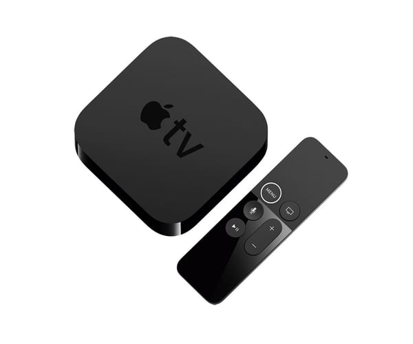 APPLE MQD22HY/A APPLE TV 32GB 4K HDR RECEPTOR DIGITAL MULTIMEDIA PARA TELEVISOR MANDO CON CONTROL POR VOZ CON SIRI WIFI BLUETOOTH HDMI ETHERNET PROCESADOR A10X FUSION