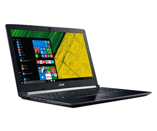 ACER ASPIRE 5 A515-51G-751G NEGRO PORTÁTIL 15.6'' HD/i7 2.7GHz/1TB/8GB RAM/W10 HOME/940MX 2GB
