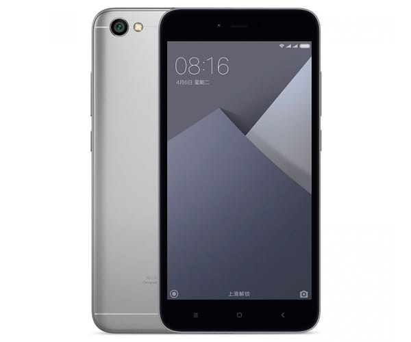 XIAOMI REDMI 5A GRIS MÓVIL 4G DUAL SIM 5'' IPS HD/4CORE/16GB/2GB RAM/13MP/5MP