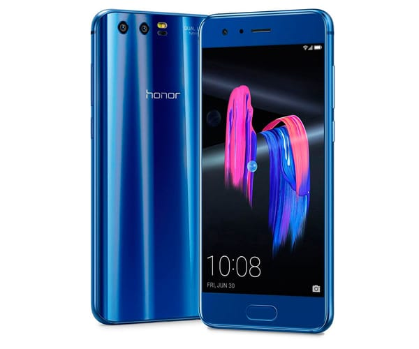 HONOR 9 AZUL MÓVIL 4G DUAL SIM 5.15'' IPS FHD/8CORE/64GB/4GB RAM/20MP+12MP/8MP