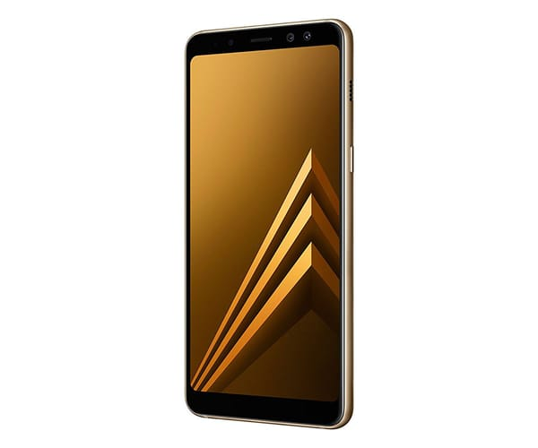 SAMSUNG GALAXY A8 (2018) DORADO MÓVIL 4G DUAL SIM 5.6'' SAMOLED FHD+/8CORE/32GB/4GB RAM/16MP/16MP+8MP