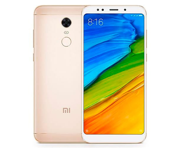 XIAOMI REDMI 5 PLUS DORADO MÓVIL 4G DUAL SIM 5.99'' IPS FHD+/8CORE/32GB/3GB RAM/12MP/5MP