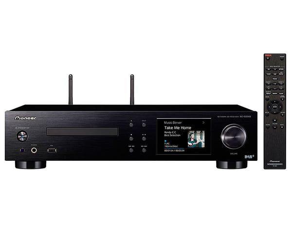 PIONEER NC-50DAB SISTEMA DE AUDIO TODO EN UNO 50W AMPLIFICADOR CLASE D REPRODUCTOR CD WIFI BLUETOOTH AIRPLAY ENTRADAS ANALÓGICAS Y DIGITALES
